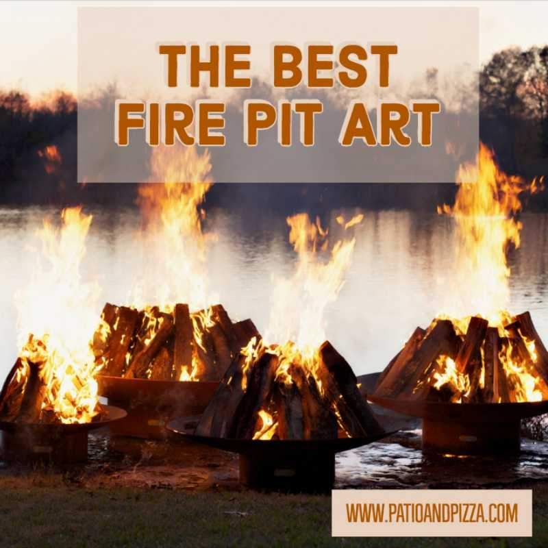 Fire Pit Art - the Best Wood Burning Fire Pits