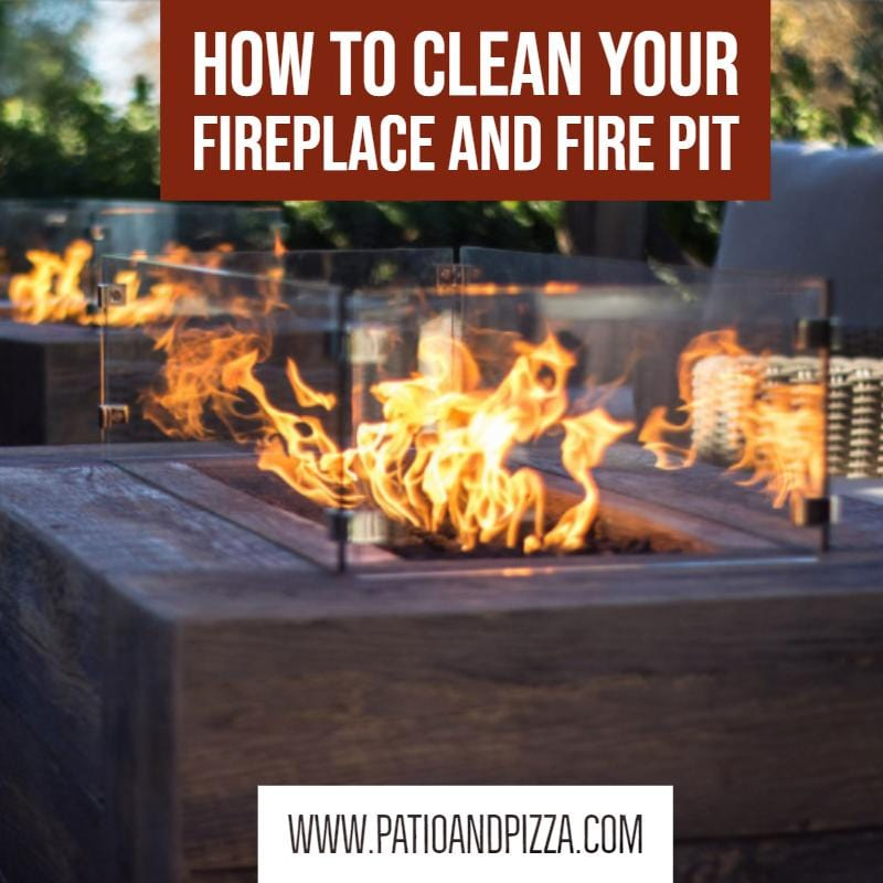 How To Clean Your Fireplace And Fire Pit
