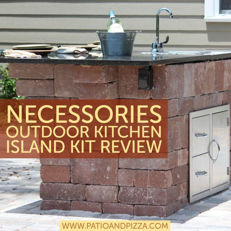 Necessories Outdoor Kitchen Island Kit Review