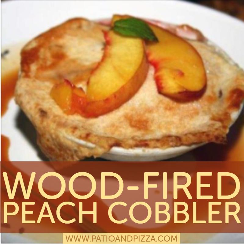 Wood-Fired Peach Cobbler