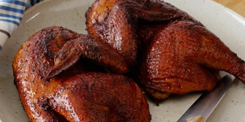 Applewood Smoked Chicken Recipe