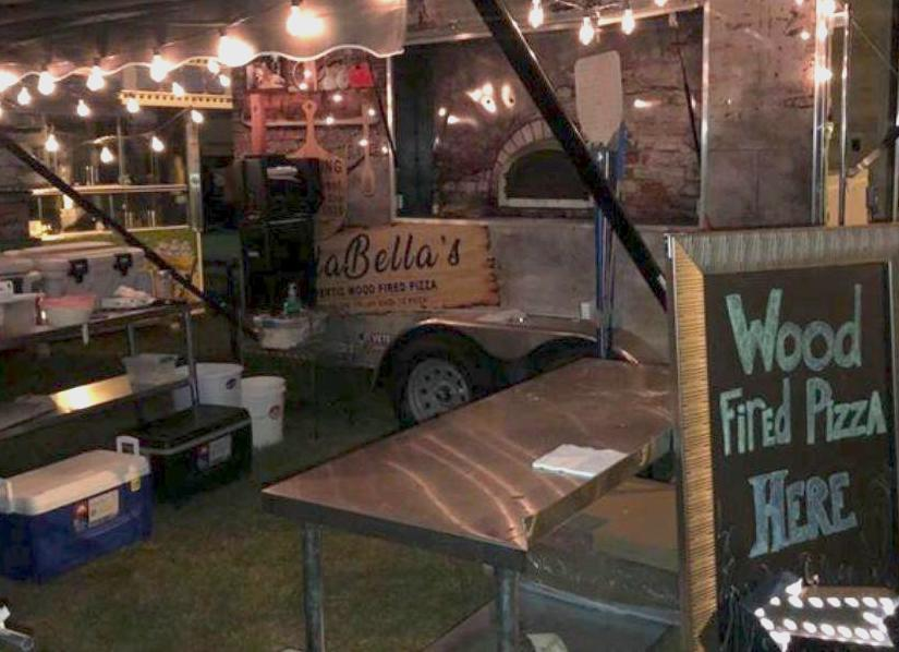 Pizza Oven Food Truck at Outdoor Festival