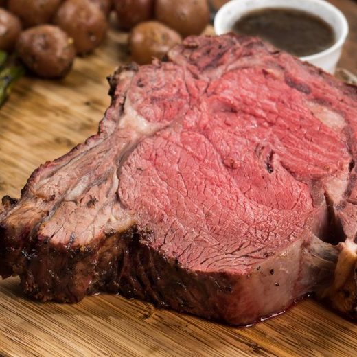 Oak Smoked Prime Rib Recipe