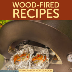 Wood fired recipes for cooking in a pizza oven