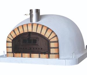 Handmade brick pizza oven from Lisbon, Portugal