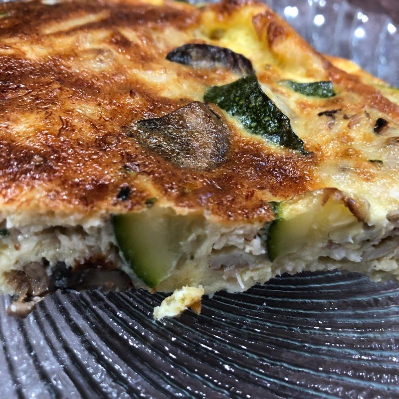 Egg Frittata Stone Crab Claw Meat Recipe