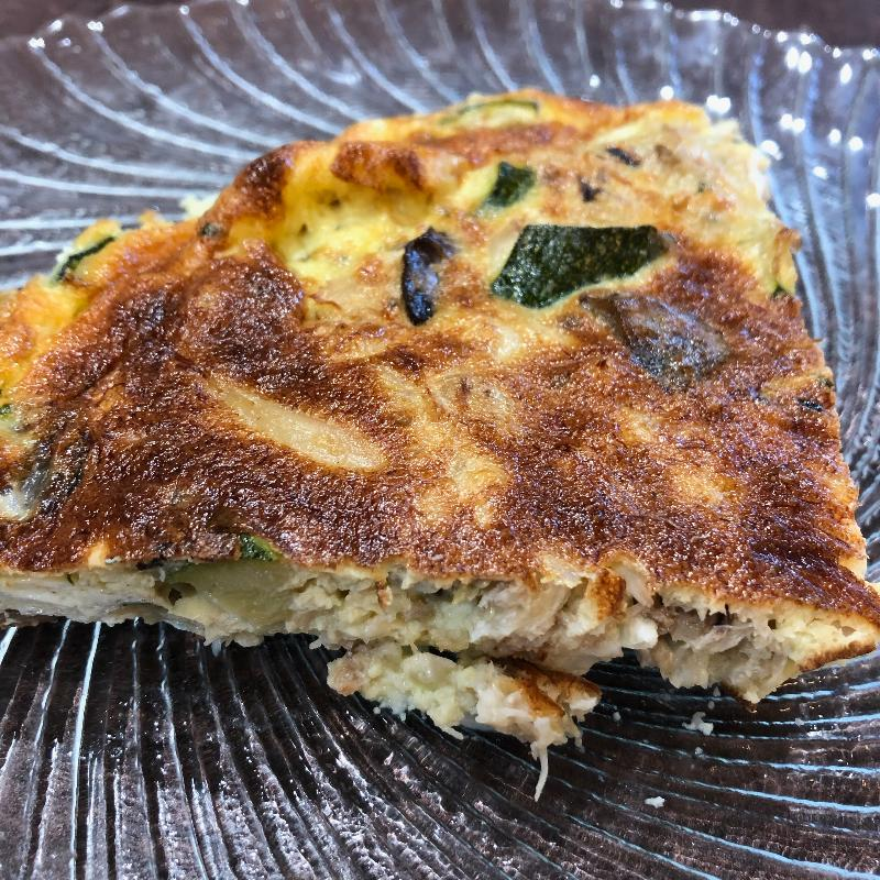 Egg Frittata Crab Claw Meat Recipe