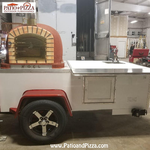 Brick Oven Food Trailer