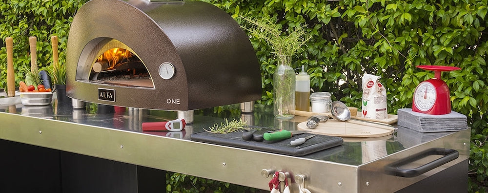 Pizza oven stands and bases collection