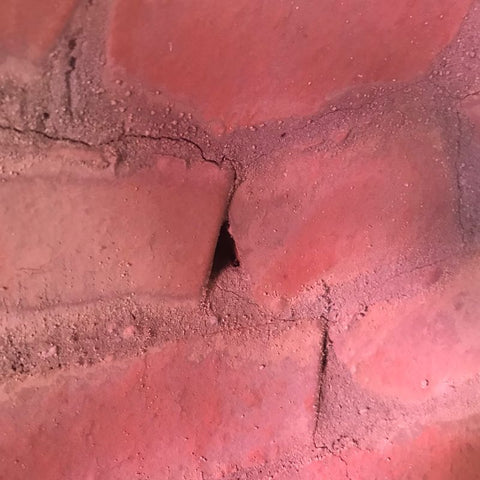 Brick Pizza Oven Cracks
