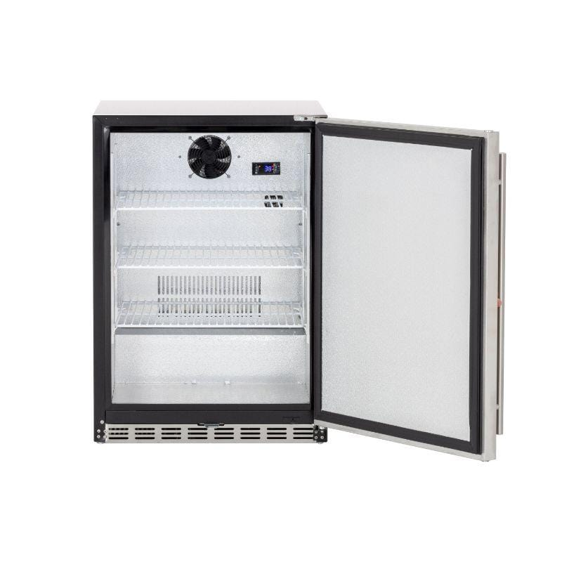 "Summerset 24"" 5.3c Outdoor Rated Refrigerator (Right-to-Left Opening)"