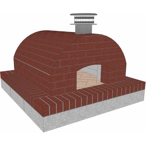 Image of Brickwood Cortile Barile Foam Pizza Oven Kit Form