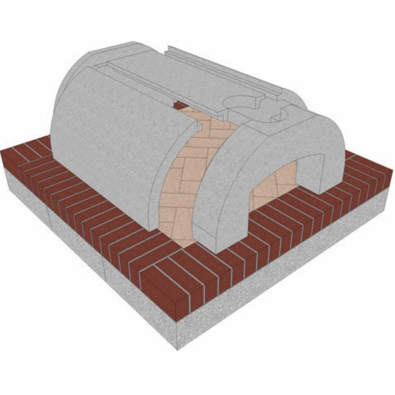 Brickwood Pizza Oven Kit Cortile Barile Package 2