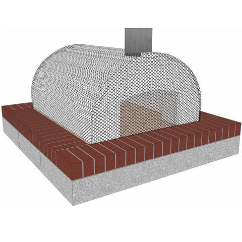 Brickwood Pizza Oven Kit Cortile Barile Foam Form