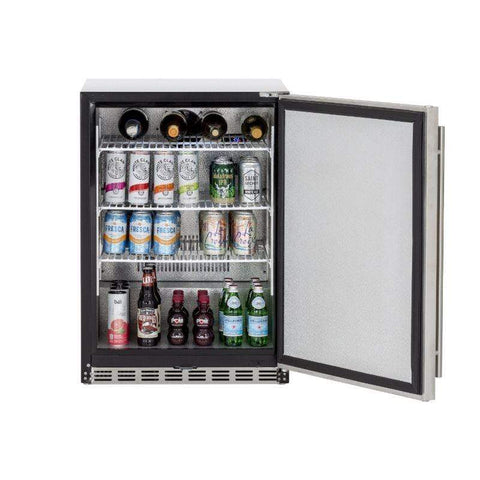 "Image of Summerset 24"" 5.3c Outdoor Rated Refrigerator (Right-to-Left Opening)"