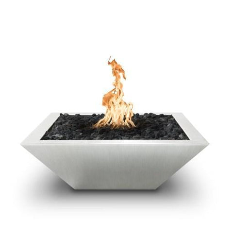 Maya Fire Bowl – Stainless Steel