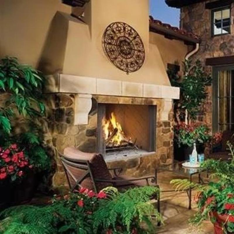 Superior Wood Burning Outdoor Fireplaces WRE4500