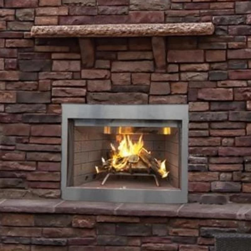 Superior Wood Burning Outdoor Fireplaces WRE3000