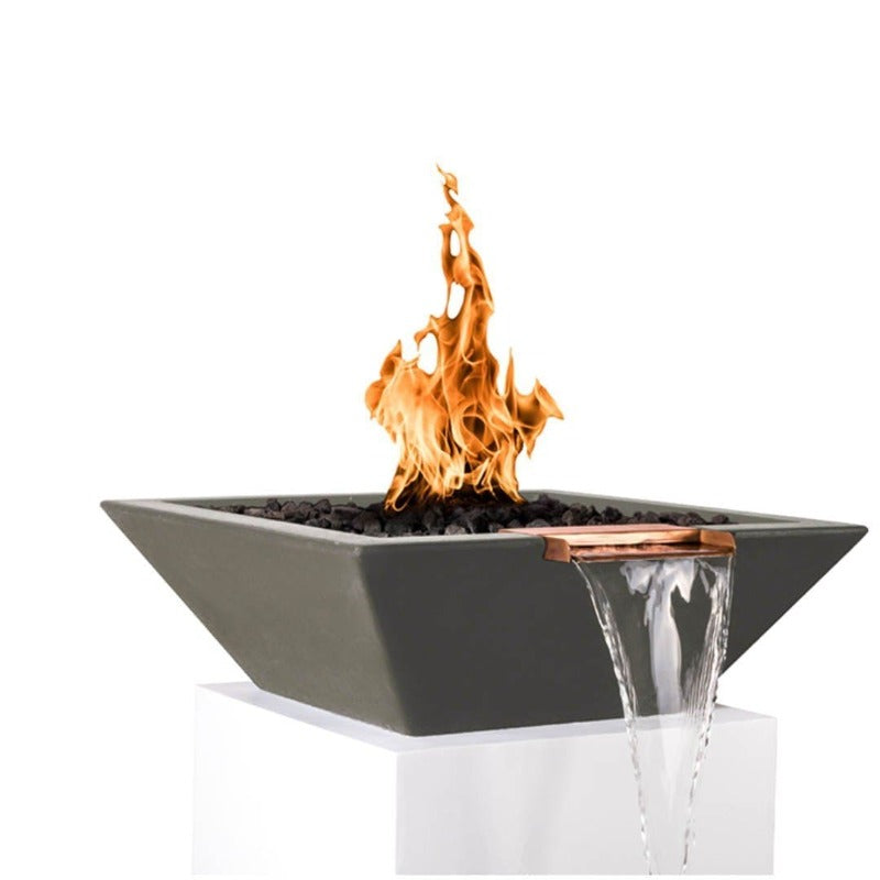 Maya Fire & Water Bowl - Ash