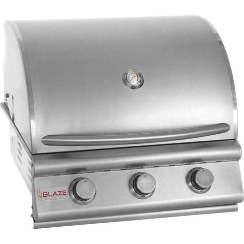 Image of Blaze 25-inch Grill with the Blaze 25-inch Cart