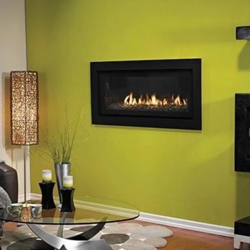 Empire Boulevard Linear Direct-Vent Fireplaces Contemporary 41""