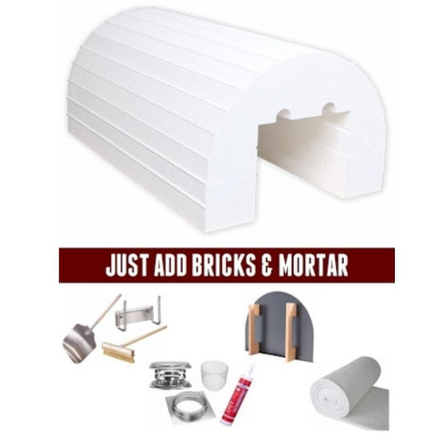 Image of Pizza Oven Kit | Brickwood Mattone Barile Package 3