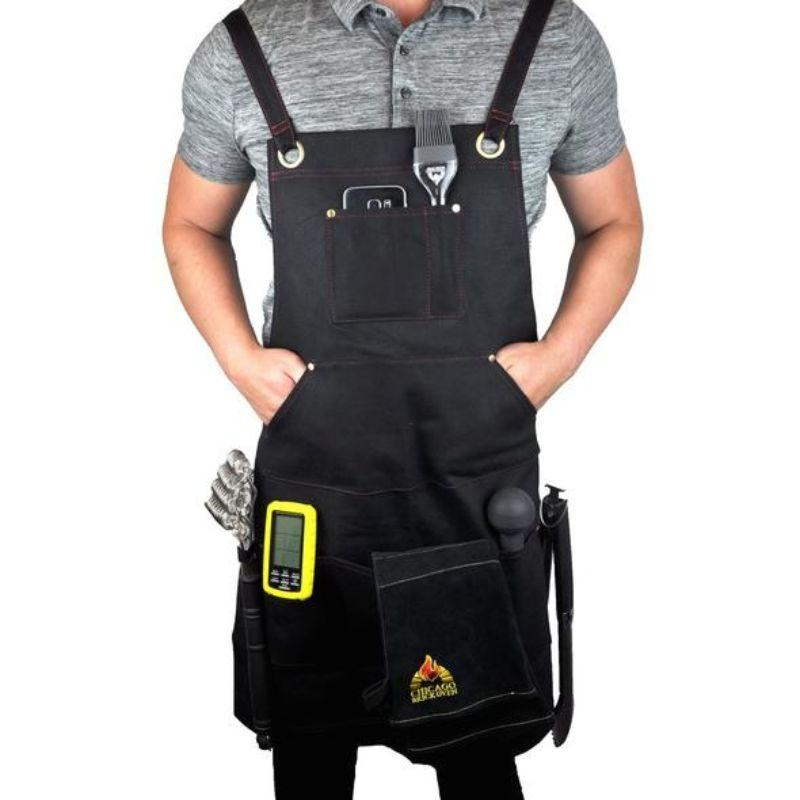 CBO Heavy - duty Cooking Apron Waxed Canvas