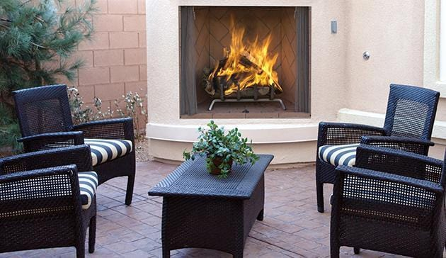Superior Wood Burning Outdoor Fireplaces WRE6000