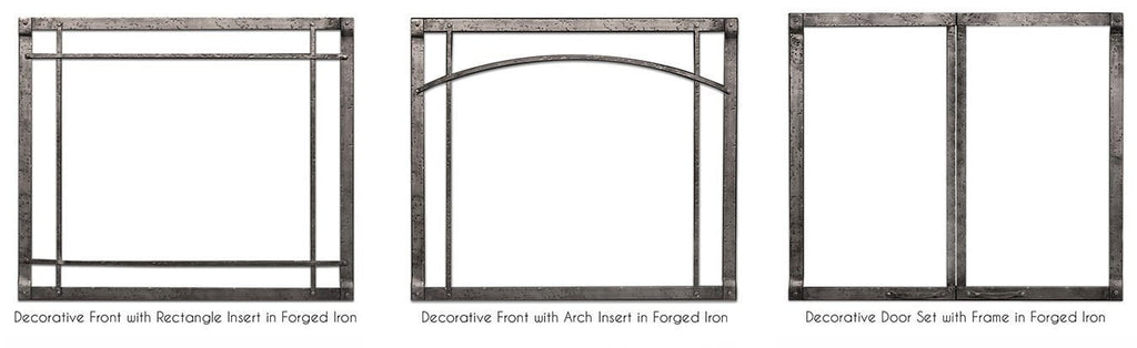 "Empire Rushmore Direct-Vent Fireplaces 36"" Decorative Fronts & Doors"