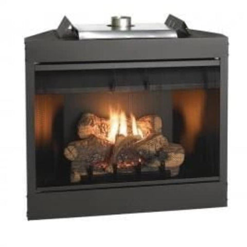 Keystone Deluxe Flush Front B-Vent Fireplaces 34""