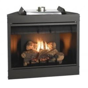 Keystone Deluxe Flush Front B-Vent Fireplaces 36""