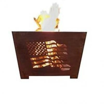 Flag Fire Basket-Esschert Design