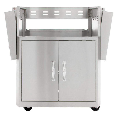 Image of Blaze Professional 27-inch 2-Burner Built-In Gas Grill With Blaze Professional 27-Inch Grill Cart