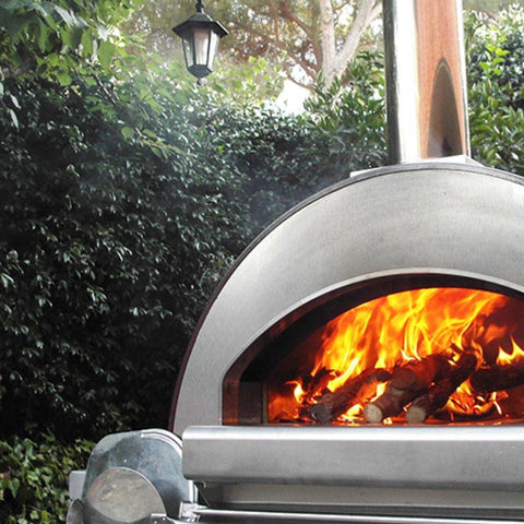 ALFA 4 Pizze Outdoor Wood Fired Oven