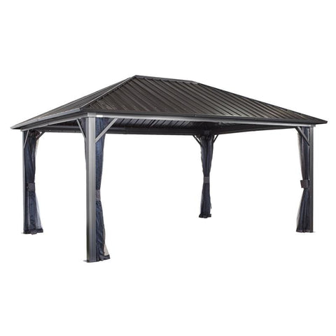 Sojag Genova Hard Top Gazebo With Steel Roof