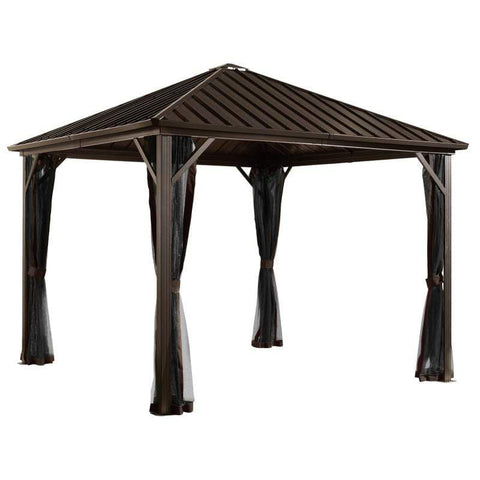 Image of Sojag Dakota Hard Top Gazebo with Steel Roof