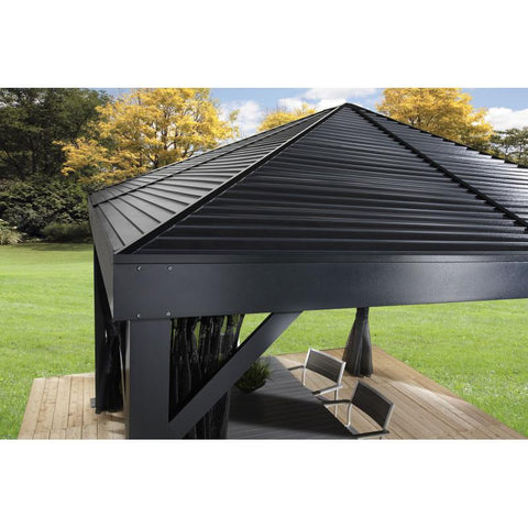 Sojag South Beach Hard Top Gazebo 12 x 12 ft