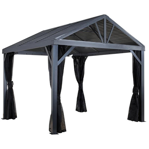 Sojag South Beach I Hard Top Gazebo 12 x 12 ft