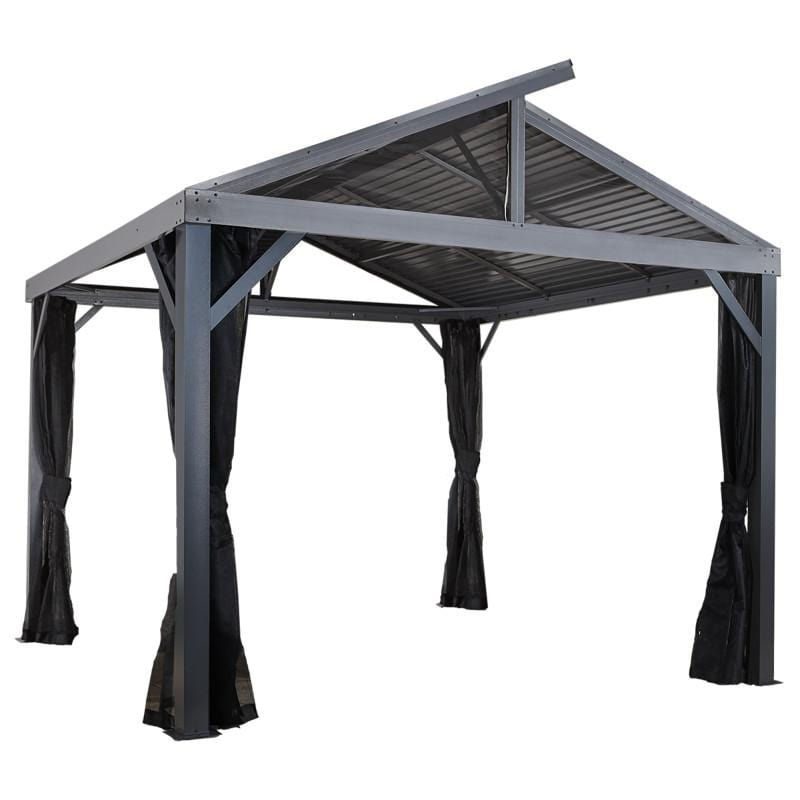 Sojag South Beach II Hard Top Gazebo 12 x 12 ft