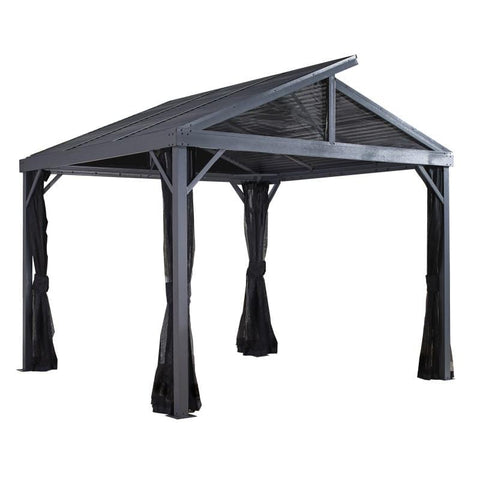 Image of Sojag Sanibel II Hard Top Gazebo with Steel Roof
