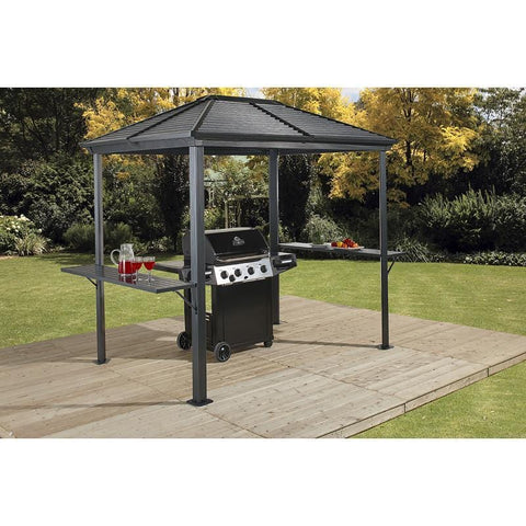 Image of Sojag BBQ Ventura Grill Hard Top Gazebo 5 x 8 ft