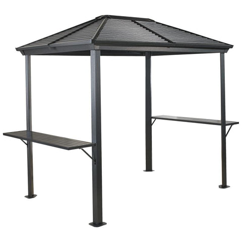 Sojag BBQ Ventura Grill Hard Top Gazebo 5 x 8 ft
