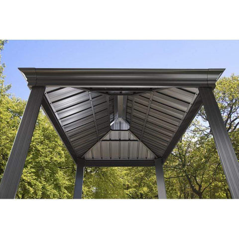 Image of Sojag BBQ Messina Grill Hard Top Gazebo 6 x 8 ft