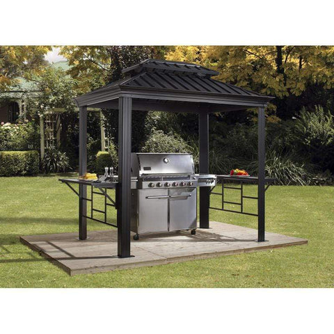 Sojag BBQ Messina Grill Hard Top Gazebo 6 x 8 ft