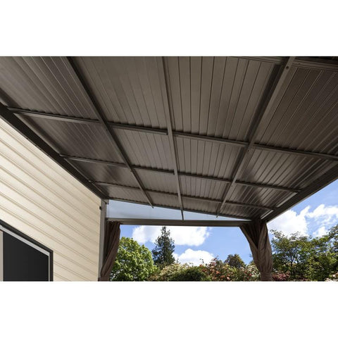 Image of Sojag Portland Wall-Mounted Hard Top Gazebo