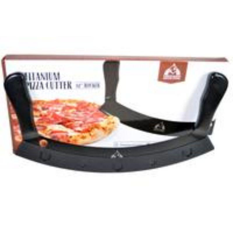 Heavy-Duty Rocker Pizza Cutter and Sheath Set