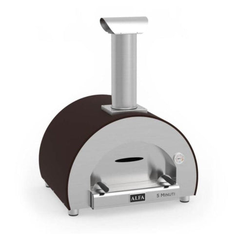Alfa 5 Minuti Wood Fired Countertop Pizza Oven