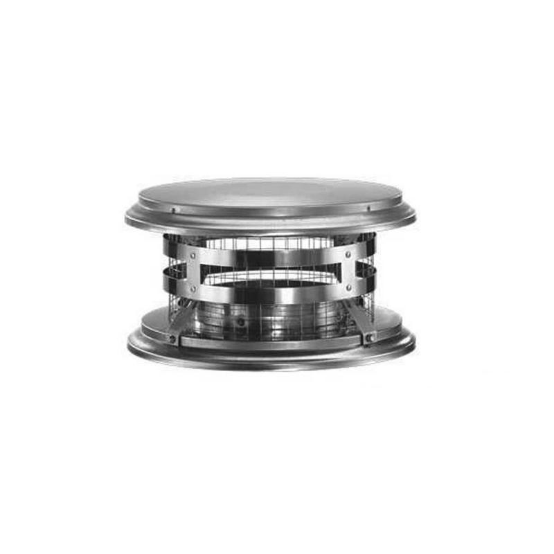 "Duratech 6"" Chimney Cap 6DT-VC"