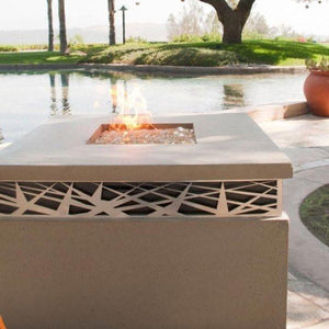 Fire Table: Nest Rectangular By American Fyre Designs