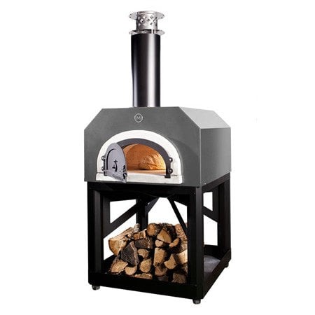 Image of Chicago Brick Oven 750 Portable Pizza Oven - Silver - Patio & Pizza - 5